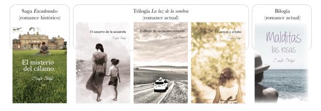 portadas mis novelas publicadas